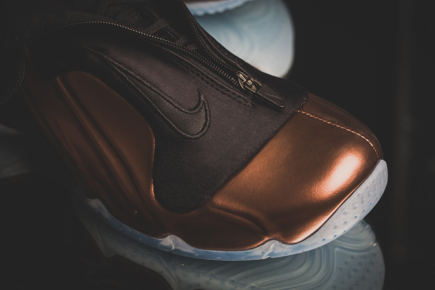 Copper Nike Flightposite 8