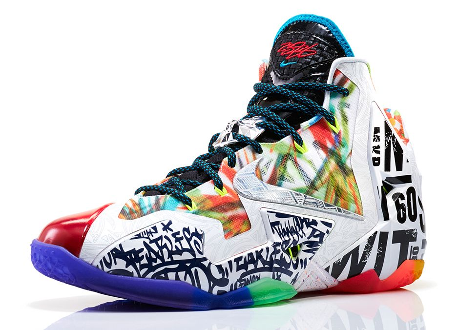 LeBron 11 What The LeBron 4
