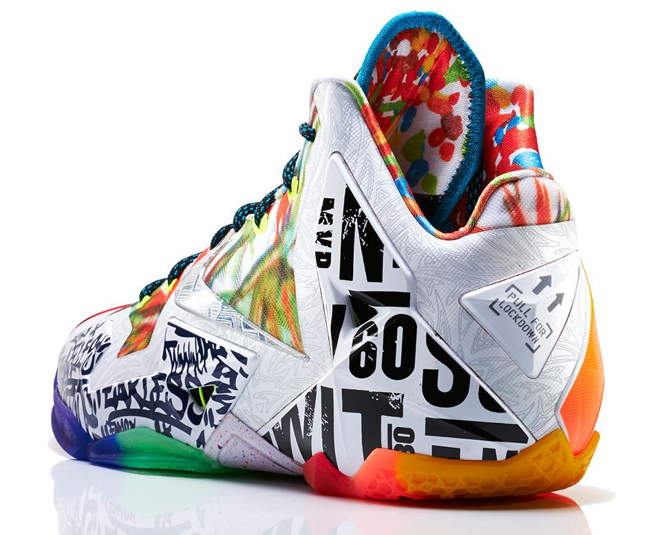 LeBron 11 What The LeBron 5