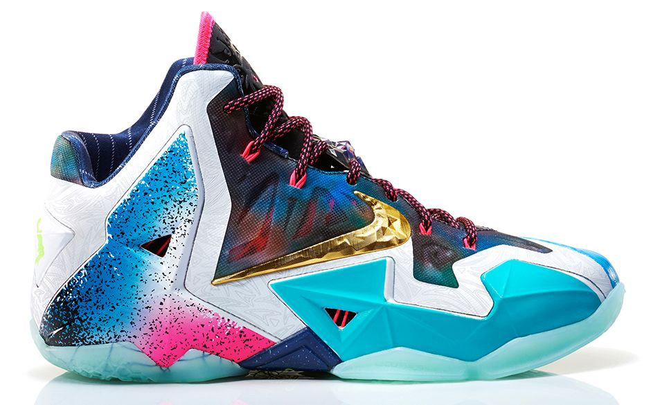 LeBron 11 What The LeBron 7