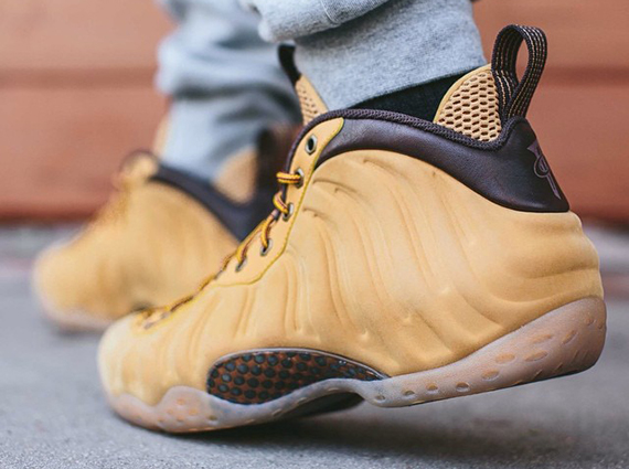 Nike Air Foamposite Wheat 2