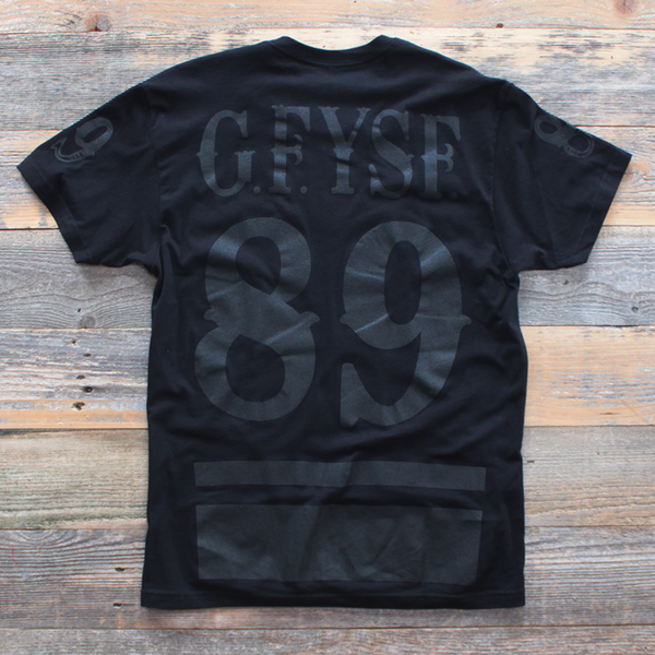 black foamposite shirt 2