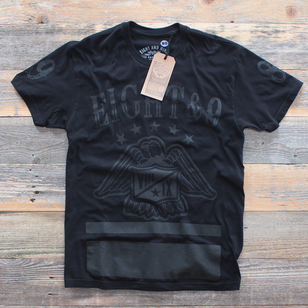black foamposite shirt