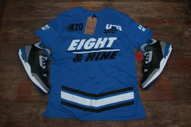 jordan 3 sport blue shirt 2
