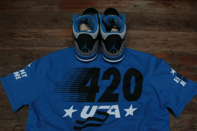 jordan 3 sport blue shirt 3