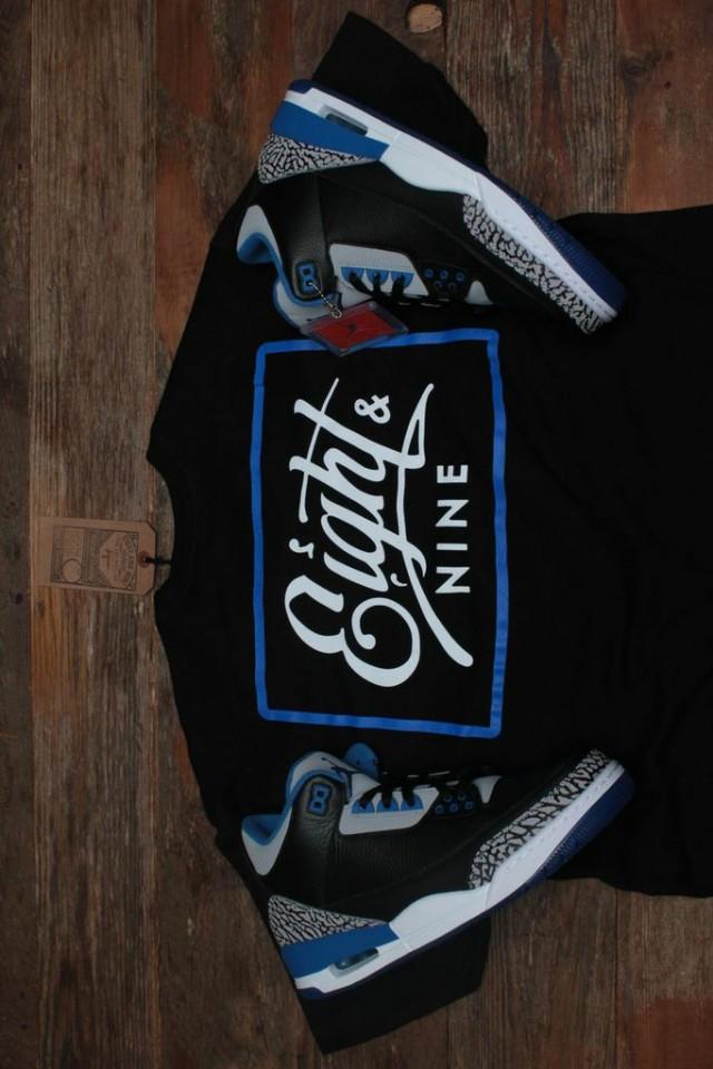 jordan 3 sport blue shirt 7