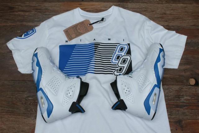 jordan 6 sport blue shirt 4
