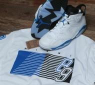 jordan 6 sport blue shirt 6