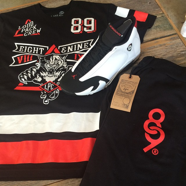 jordan 14 black toe shirts