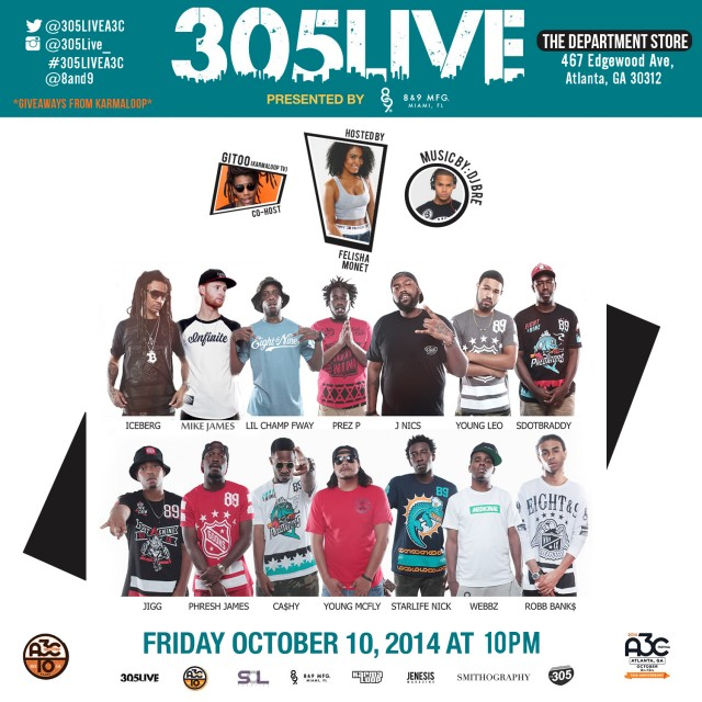 10.10.14 305Live At A3C Festival