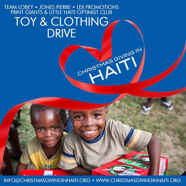 Christmas Giving In Haiti Toy & Clothing Drive
