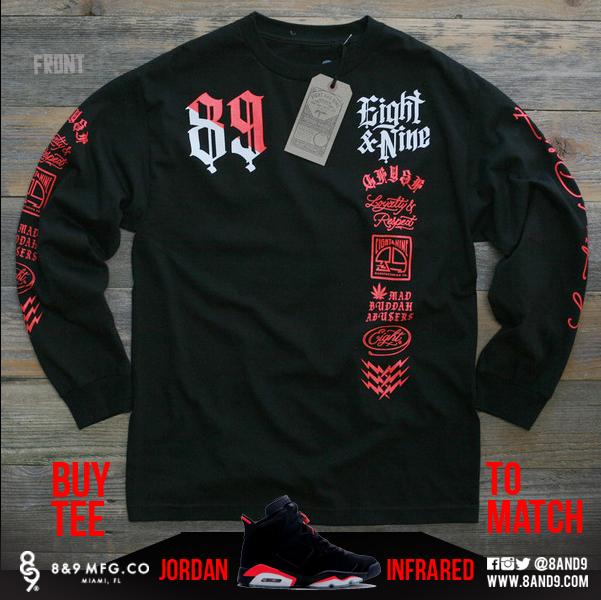 2014 Jordan Infrared 6 Shirts 1