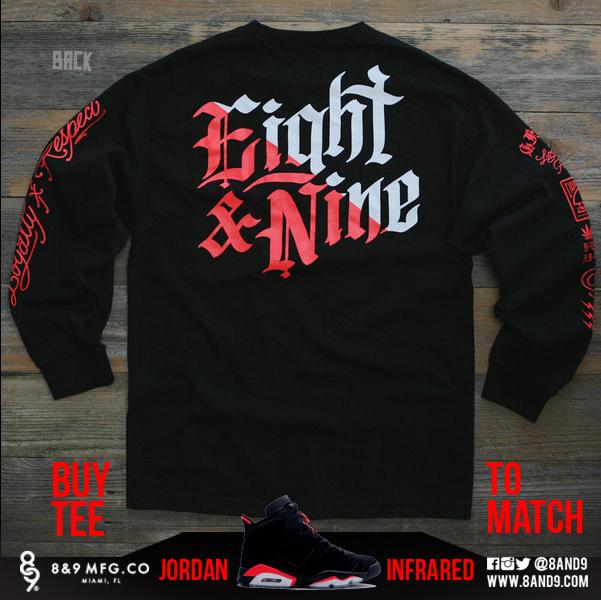 2014 Jordan Infrared 6 Shirts 2