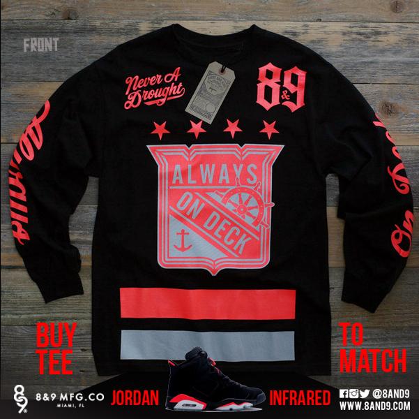 2014 Jordan Infrared 6 Shirts 3