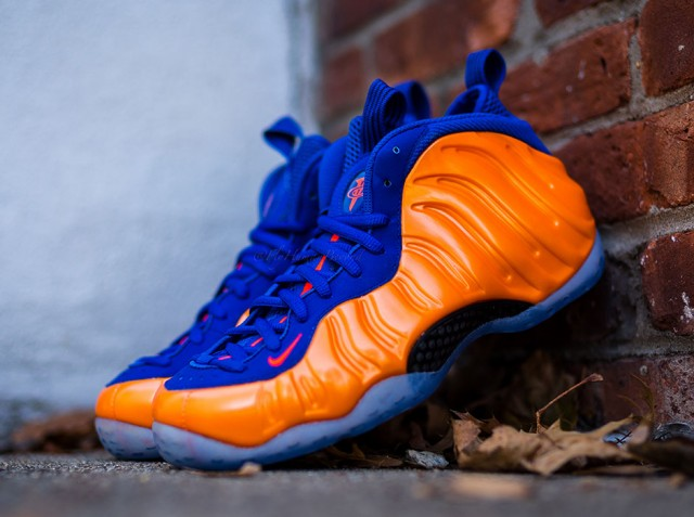 2014 knicks and volt foamposite release