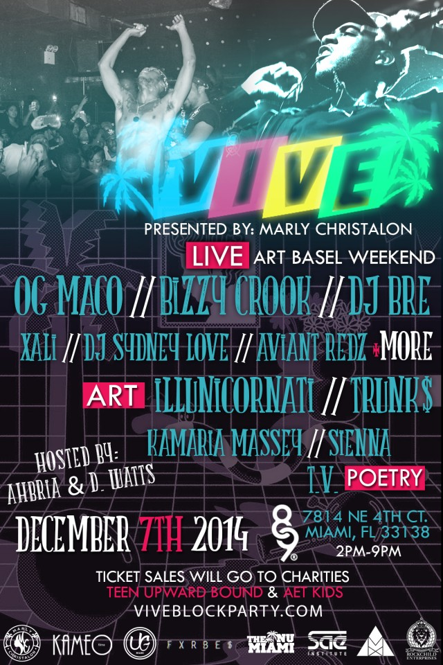 Vive Block Party 2014 #ArtBasel2014