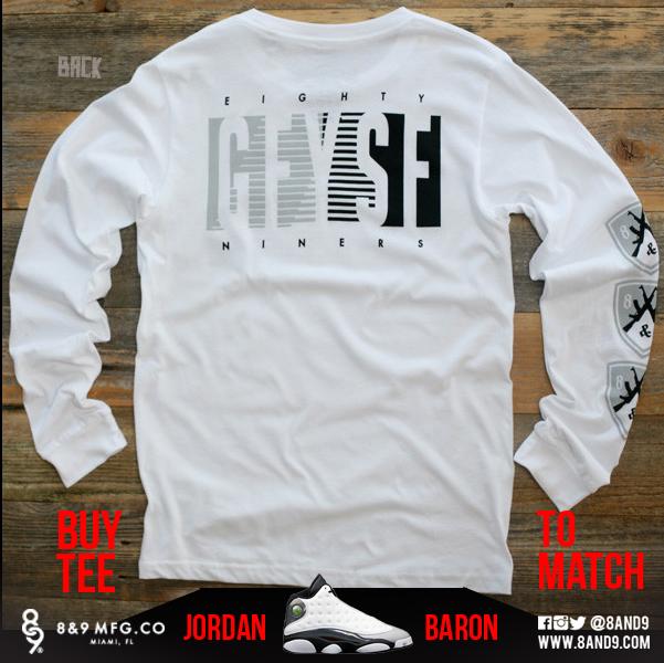 jordan 13 barons shirts 2