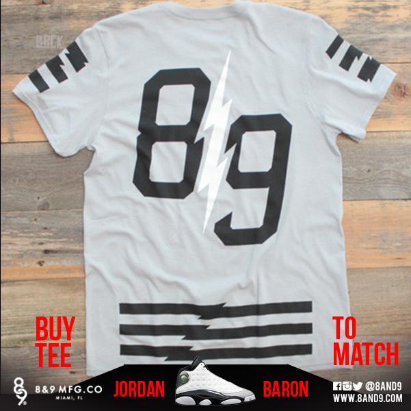 jordan 13 barons shirts 6