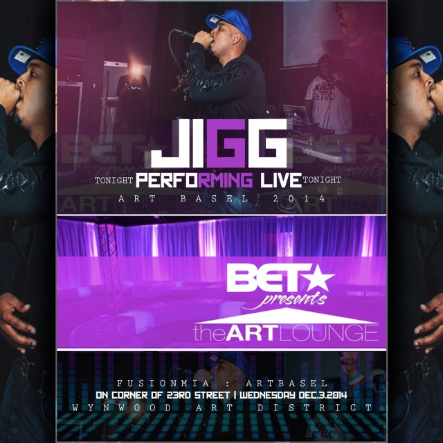 2nd Annual Fusion MIA: Presents the BET Art Lounge W/ Jigg