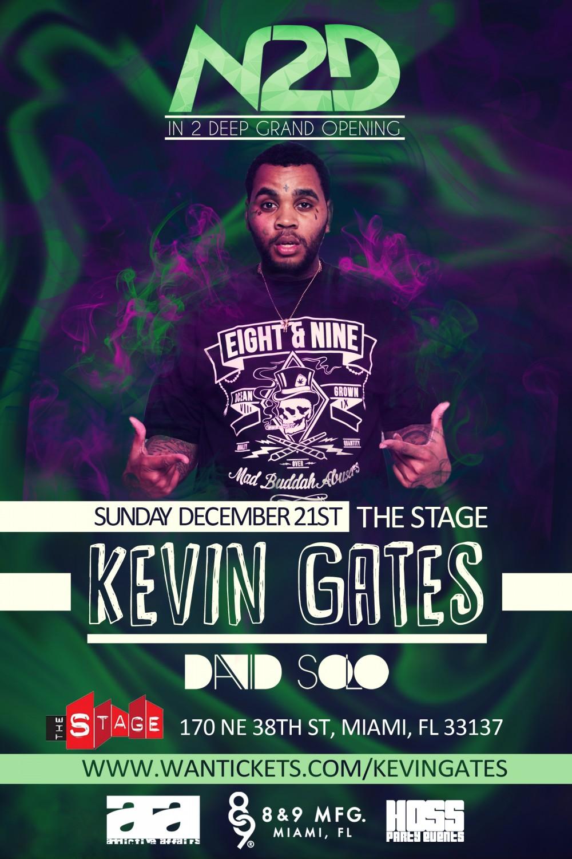Kevin Gates Live