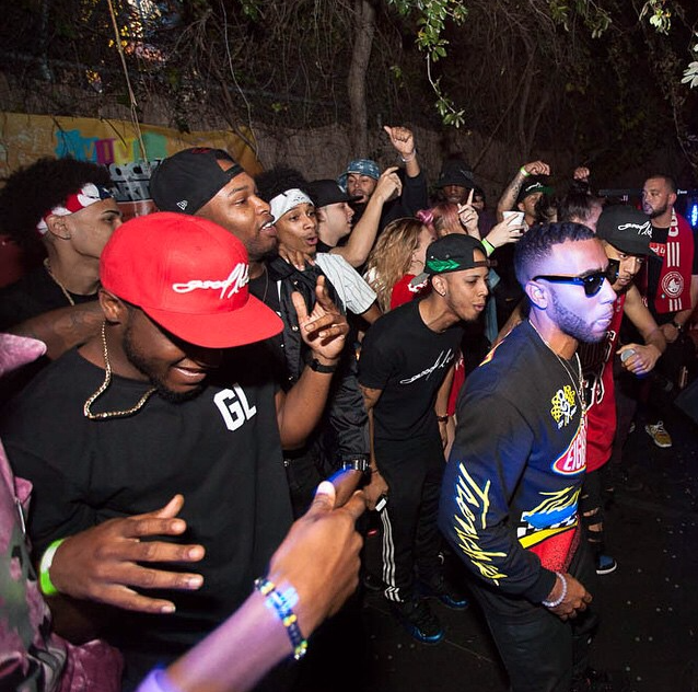 Bizzy Crook at Vive Block Party 2014