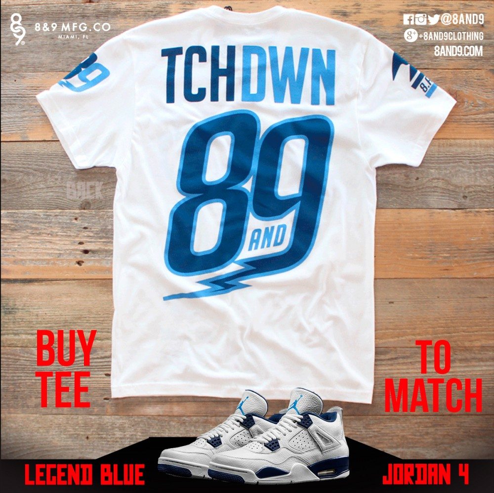 jordan 4 legend blue shirts 3